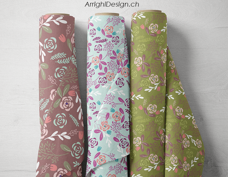 floral rolls collection