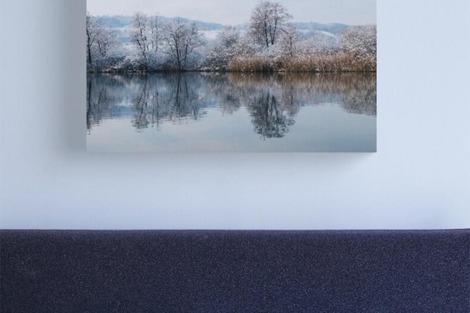 landscape photography winter lake
